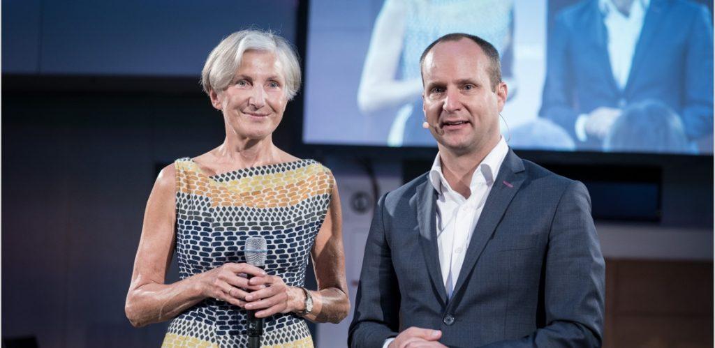 Irmgard Griss und Matthias Strolz